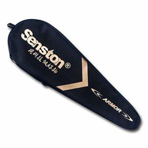 Housse étui senston Raquette de badminton Unisexe Sac raquette de badminton Taille unique – Badminton Racket Cover Case