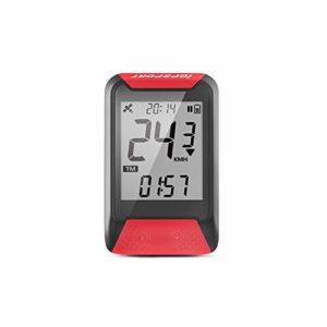 IGPSPORT iGS130 – Compteur de Vélo GPS Simplifié Rouge