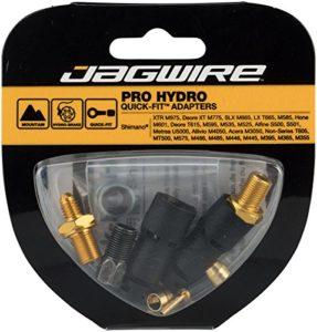 Jagwire Pro Quick-Fit Adapter-Shimano XTR Kit de raccords Mixte Adulte, Noir