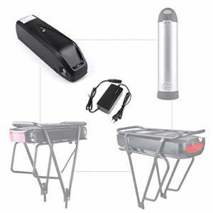 Junstar Ebike Batterie Hailong 48V 17,5Ah Lithium Li-ION Batterie pour Ebike Vélo électrique Vélo électrique Samsung 35ET Cells Batterie avec Chargeur avec Prise USB
