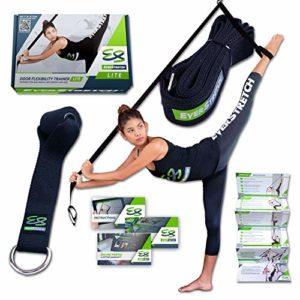 L'assouplisseur de jambes EverStretch: Soyez plus flexible avec notre Door Flexibility Trainer Lite. Appareil d'entraînement d'étirement LITE Premium pour le ballet, la danse, le MMA