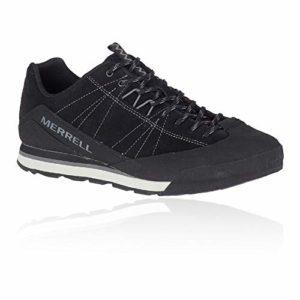 Merrell Catalyst Suede, Chaussure de Piste d'athlétisme Homme, Black, 42 EU