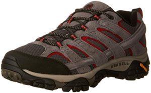 Merrell Men's Moab 2 Vent Hiking Shoe, Charcoal Grey, 11.5 2E US