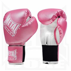METAL BOXE Gants de Boxe Rose 4 oz