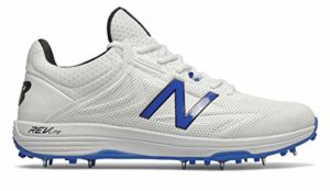 New Balance CK10 BL4 Chaussures de Cricket 2020, CK10BL4, Blanc, 9 UK