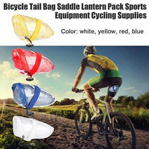 Par Sac De Selle Vélo Imperméable Avec Compas De Vélo Strap-On Saddle Bag Vélo Tail Bag Selle Lanterne Pack Équipement De Sport Vélo