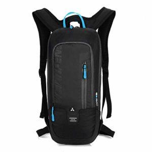 Sacàdosdevélo10L de BLF,imperméable,respirantetultraléger。Cadeauidéalpourles amateurs de cyclisme mais aussi de fitness,courseàpied,randonnée,escalade,camping et ski,BLF-QX-025,Noir,46 * 22 * 7 cm