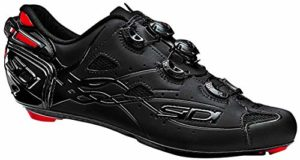 SIDI Shots Matt, Scape Cyclisme Homme, Total Black, 44