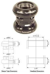 Tange-Seiki Technoglide J-62 Road A/Headset 1 1/8″