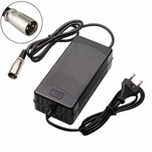 tangspower 54.6V 3A Chargeur de Batterie au Lithium vélo électrique pour 13Series 48V Batterie au Lithium 3 Pin-XLR Plug
