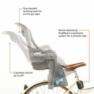 THULE Ride Along Siège de Vélo Mixte Enfant, Gris Clair