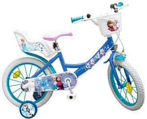Toims Reine des Neiges Vélo Enfant 14″ – 4/6 ans