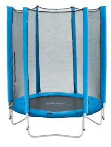 Trampoline Junior et filet de protection par Plum. Bleu