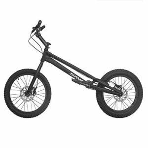 TX Biketrial Style Libre Épreuves De Vélo De Montagne Sport Extrême Freins À Disque 20 Pouces Sports De Plein Air,Black