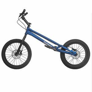 TX Biketrial Style Libre Épreuves De Vélo De Montagne Sport Extrême Freins À Disque 20 Pouces Sports De Plein Air,Blue