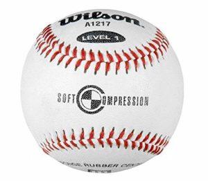 Wilson Practice and Soft Compression Balles de baseball – A1217, FS
