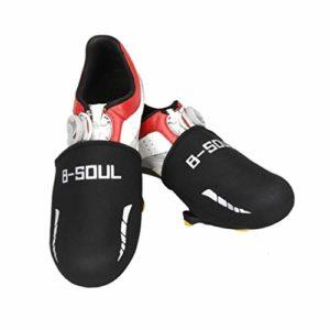 WINOMO Vélo chauffe-pieds Couvre-chaussures coupe-vent (Noir)