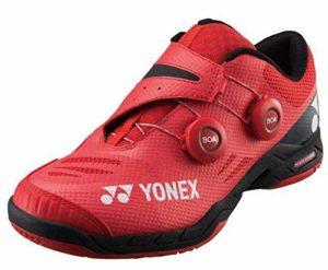 Yonex , Chaussures de Badminton pour Homme Rouge Rouge – Rouge – Rouge, 40 EU
