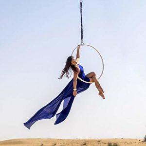ZQNHXY Bague Aerial Yoga Pole Dance – Tube de Danse – Pole Dance – Bague Commercial/Bar/Acrobate/Danse